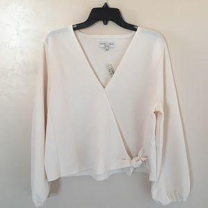 Madewell Texture & Thread blouse